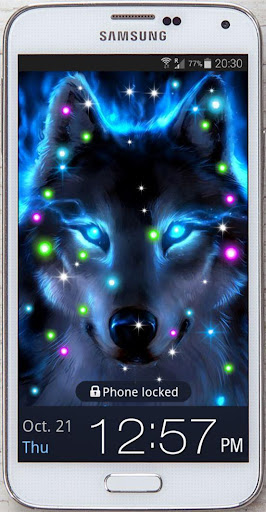 Mistery Wolves live wallpaper