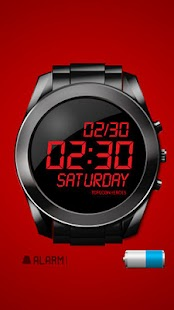 SIMPLE DESIGN ALARM CLOCK #001 - screenshot thumbnail