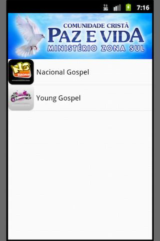 Nacional Gospel - screenshot