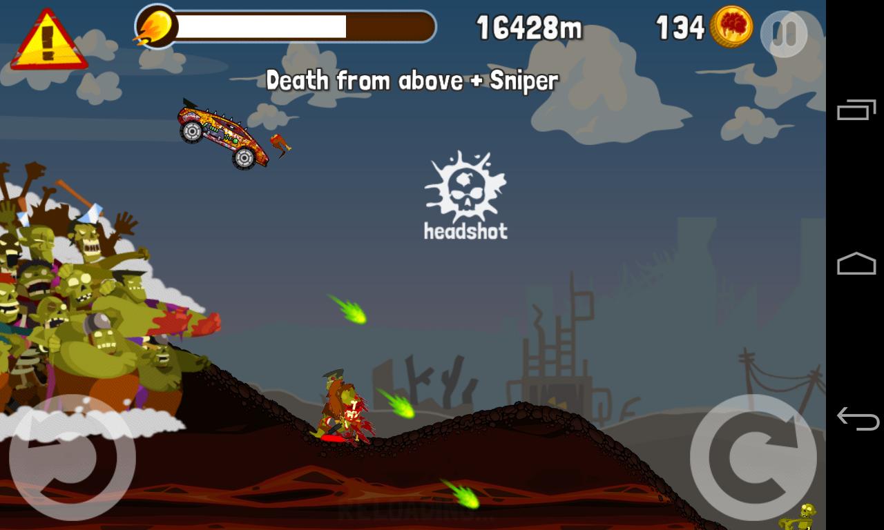 Zombie Road Trip screenshot #6