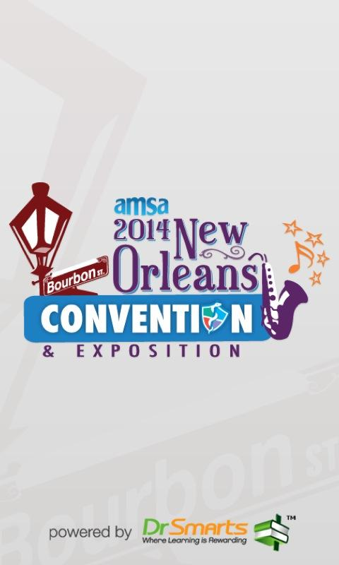 AMSA Annual Convention 2014 - screenshot