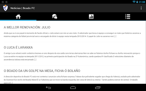 Boado FC - screenshot thumbnail