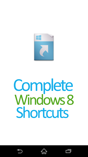 Complete Windows8 Shortcuts