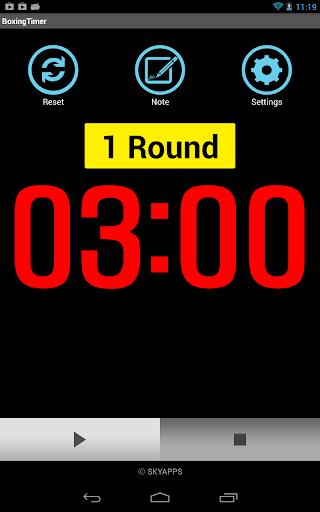 Boxing Timer (Training Timer) 5.4.8 screenshots 12