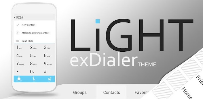 Light Theme for exDialer apk