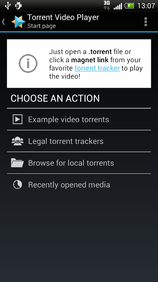 Torrent Video Player - TVP - screenshot