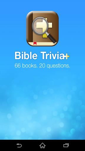 Free Bible Trivia Game Plus