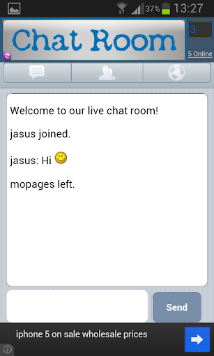 chat bored room