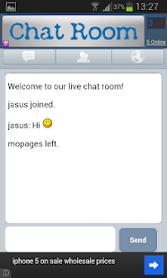 Free Chat Room - screenshot thumbnail