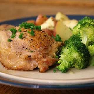 Blue Cheese, Bacon and Chive Stuffed Pork Chops Recipe