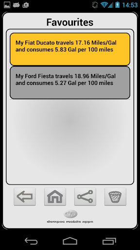 Motorcycle Fuel Consumption Calculator