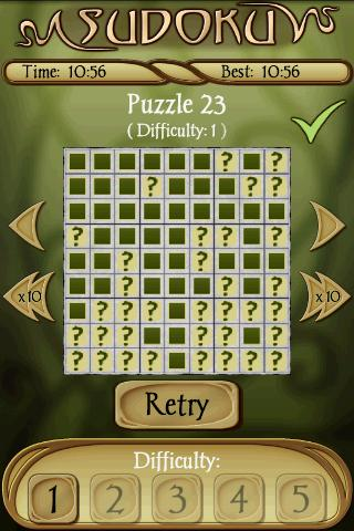 Sudoku Free 1.5 Screenshots 8