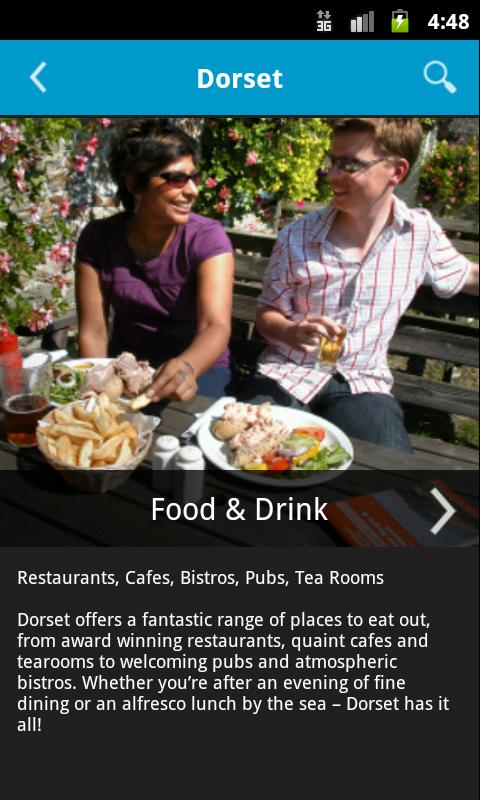 Dorset – the Official Guide - screenshot