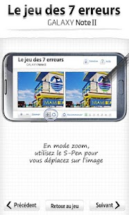 Jeu 7 erreurs Galaxy Note II - screenshot thumbnail