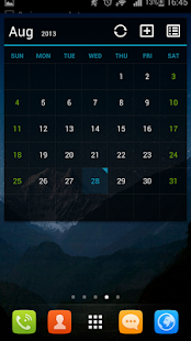 GO Calendar+- screenshot thumbnail