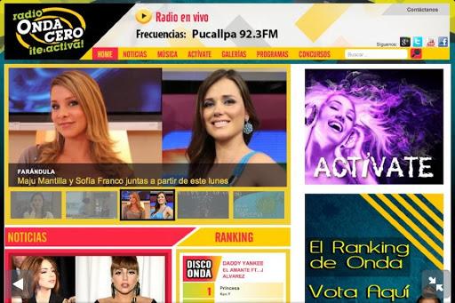 【免費音樂App】Radio Onda Cero-APP點子
