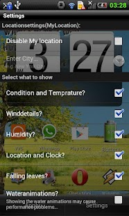 THIS! Weather Live Wallpaper - screenshot thumbnail