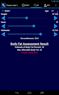 US Coast Guard Fitness Calc - screenshot thumbnail