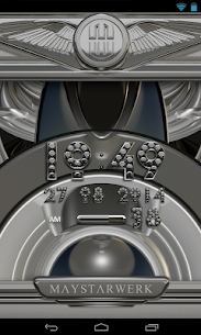 Digi Clock Widget Silver Diamond v2.70 [Paid] APK 4
