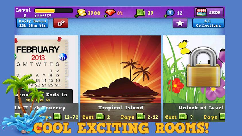 Bingo Summer Splash Screenshot