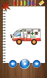 Kids Paintings Coloring - Cars Screenshot 1