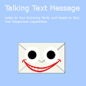 Talking Text Messages SMS logo