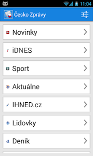 Česko Zprávy- screenshot thumbnail