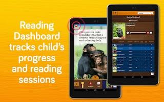 Screenshot of Booksy: learn to read platform