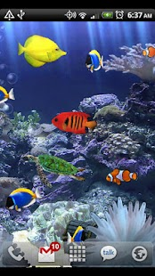 Aquarium Live Wallpaper- screenshot thumbnail