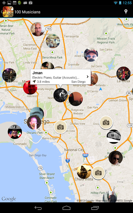 BandFriend - Musicians Network - screenshot