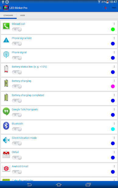 LED Blinker Notifications Pro - Manage your lights Mod