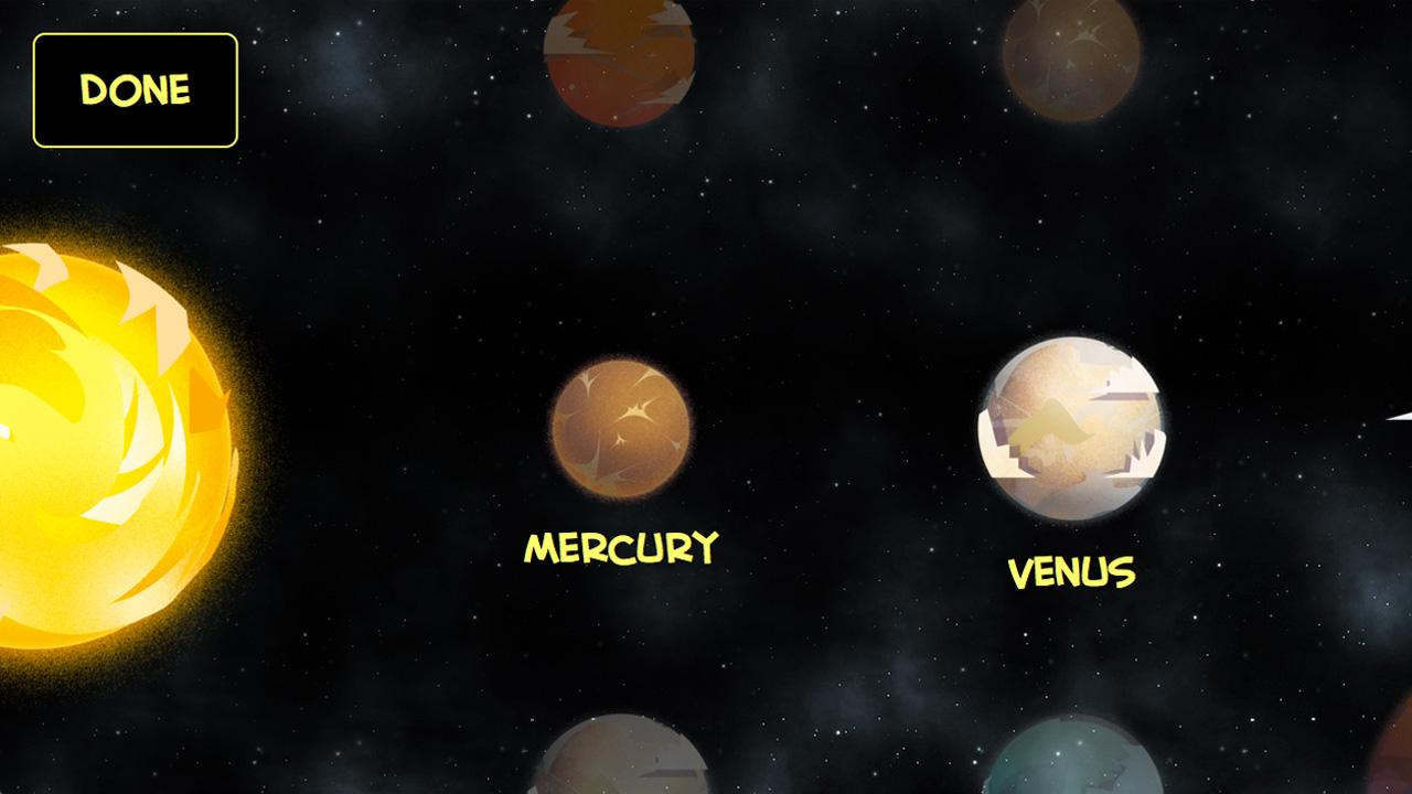 Space - Planets for Kids- screenshot