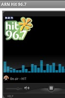 Screenshot of Hit Malayalam / Hindi FM Radio