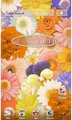 Flower Wallpaper Happiness 1.2 Windows u7528 1