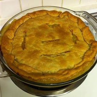 Grandma's Leftover Turkey Pot Pie.