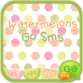 Watermelon Go Sms Theme