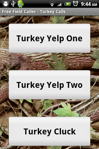 Free Field Caller-Turkey Calls- screenshot