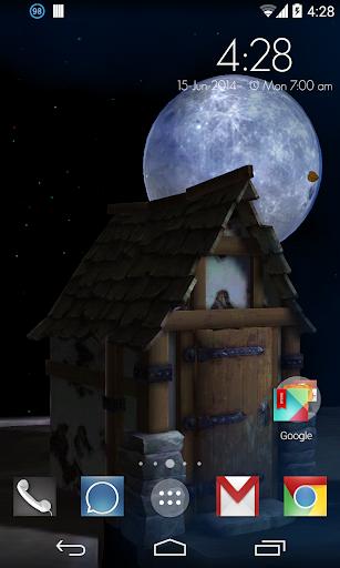 Spooky Night 3d LWP