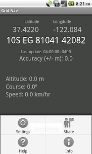 Grid Nav MGRS Utility- screenshot thumbnail