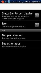 StatusBar On Free- screenshot thumbnail