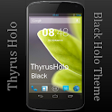 ThyrusHolo Black CM10 Theme icon