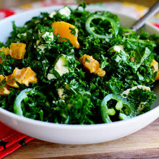 Kale Citrus Salad.
