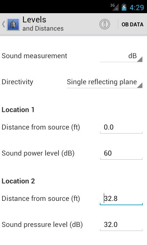Resound Acoustics Lite - screenshot