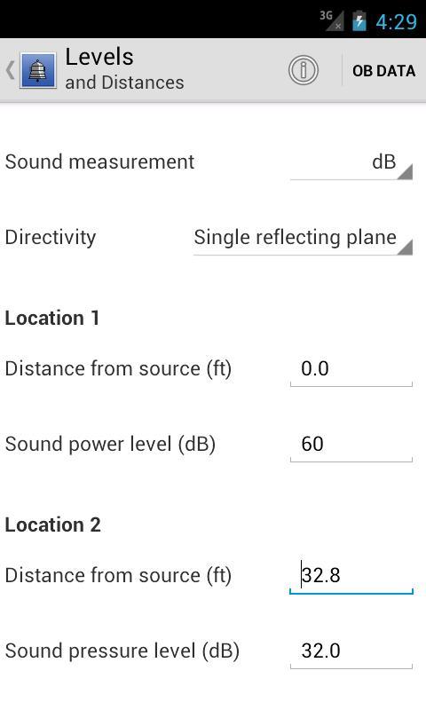 Resound Acoustics Lite - screenshot