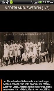 Voetbal van toen - screenshot thumbnail