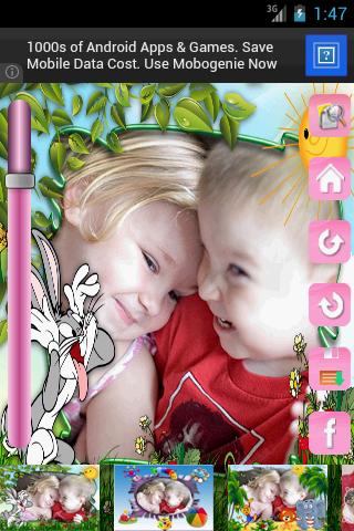 玩免費攝影APP|下載Kids Photo frames free app不用錢|硬是要APP