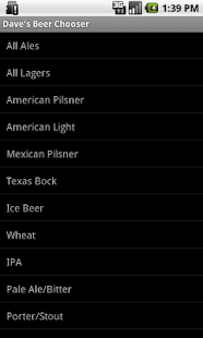 Beer Chooser - screenshot thumbnail