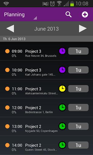 Timewax Planning Urenstaten