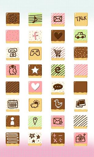 CUKI Theme Sweet Pepero Icon