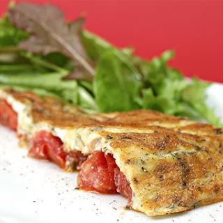 Tomato Frittata With Fresh Herbs
